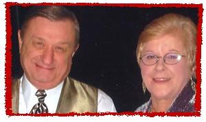 Richie and his lovely bride: Suellen