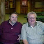 Eddie Blazonczyk Sr. & Fred taken at Seven Springs in 2001.