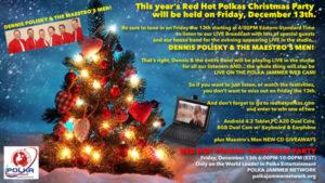 red hot polka christmas