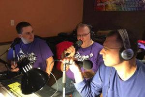 Matt Martin, Jackie Libera, Todd Zaganiacz at Hrukus Hellraisers Halloween Weekend October 28, 2017