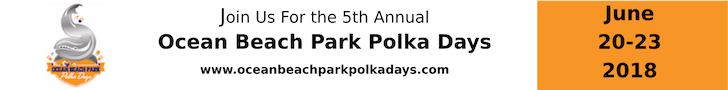 Ocean Beach Park Polka Days June 20-23, 2018