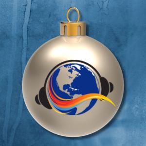 polka jammer ornament