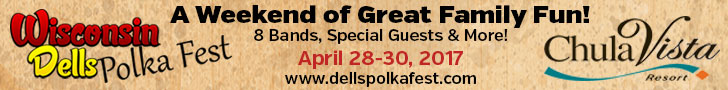 Wisconsin Dells Polka Fest April 28-30, 2017