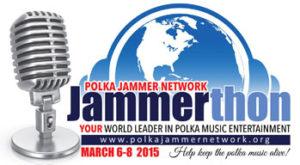 2015 Polka Jammer Network Jammerthon Logo