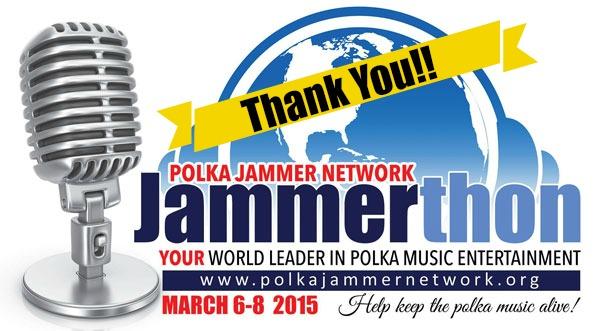 2015 JammerThon Thank You