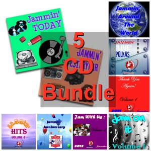2017 Polka Jammer Network Jammerthon CD Bundle