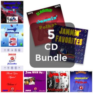 2018 5 CD Jammerthon Bundle