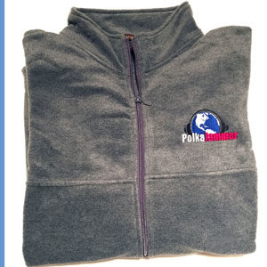 Gray Fleece Jacket