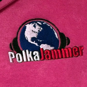 Pink Fleece Embroidered Logo