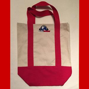 Polka Jammer Network Tote Bag