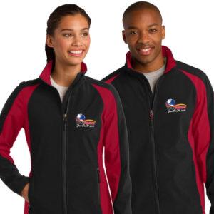 Sport Tek Jacket Polka Jammer Network Logo