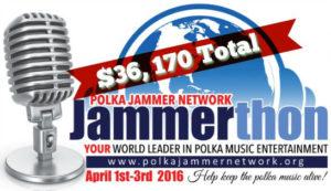 Jammerthon 2016 Final Total