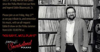 Eddie Blazonczyk Annual Tribute Show – May 27