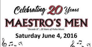 Maestro's Men June 4, 2016