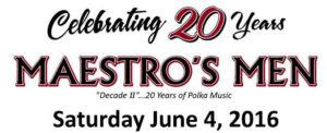 Maestro's Men June 4 2016