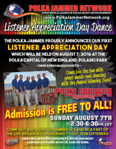 Listener Appreciation Day Dance 2016