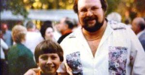 8 Year Old Todd Z with Eddie B Sr