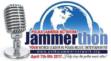 Polka Jammer Network Jammerthon April 7-9, 2017