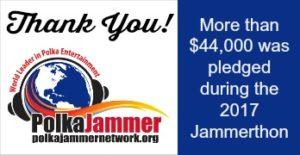 2017 Jammerthon Thank You