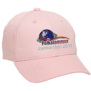 pink 2019 jammerthon baseball cap