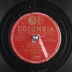 Edmond Terlikowski Recording
