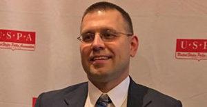 Todd Zaganiacz with 2016 USPA award