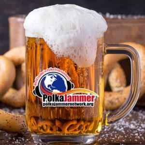Polka Jammer Beer Stein