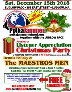PJN Listener Appreciation Christmas Party 2018