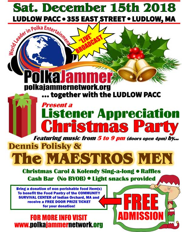PJN Listener Appreciation Christmas Party 2018
