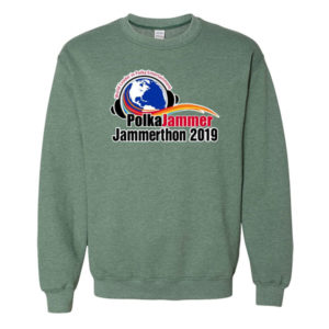 green sweatshirt 2019 jammerthon