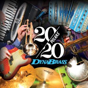 DynaBrass 2020 polkas album cover
