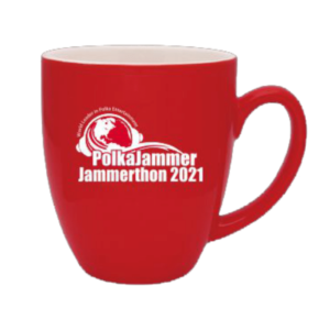 Red Coffee Mug Jammerthon 2021