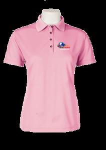 Women Polo Pink